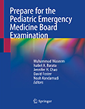 Image of the book cover for 'Prepare for the Pediatric Emergency Medicine Board Examination'