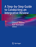 Image of the book cover for 'A Step-by-Step Guide to Conducting an Integrative Review'