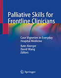 Image of the book cover for 'Palliative Skills for Frontline Clinicians'