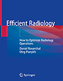 Image of the book cover for 'Efficient Radiology'