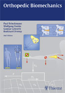 Image of the book cover for 'Orthopedic Biomechanics'