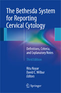 Image of the book cover for 'The Bethesda System for Reporting Cervical Cytology'