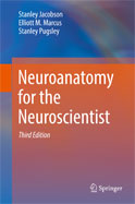 Image of the book cover for 'Neuroanatomy for the Neuroscientist'