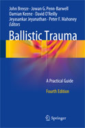 Image of the book cover for 'Ballistic Trauma'