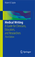 Image of the book cover for 'Medical Writing'