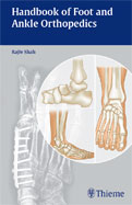 Image of the book cover for 'Handbook of Foot and Ankle Orthopedics'